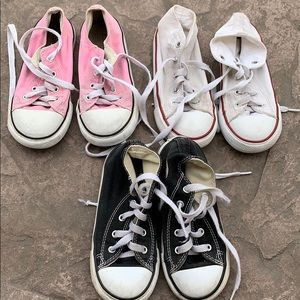 All 3 converse for 15 still in good conditions